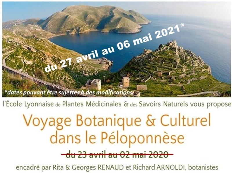 Voyage botanique et culturel au Péloponnèse