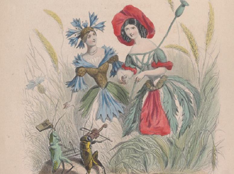 Les Fleurs animées de Grandville