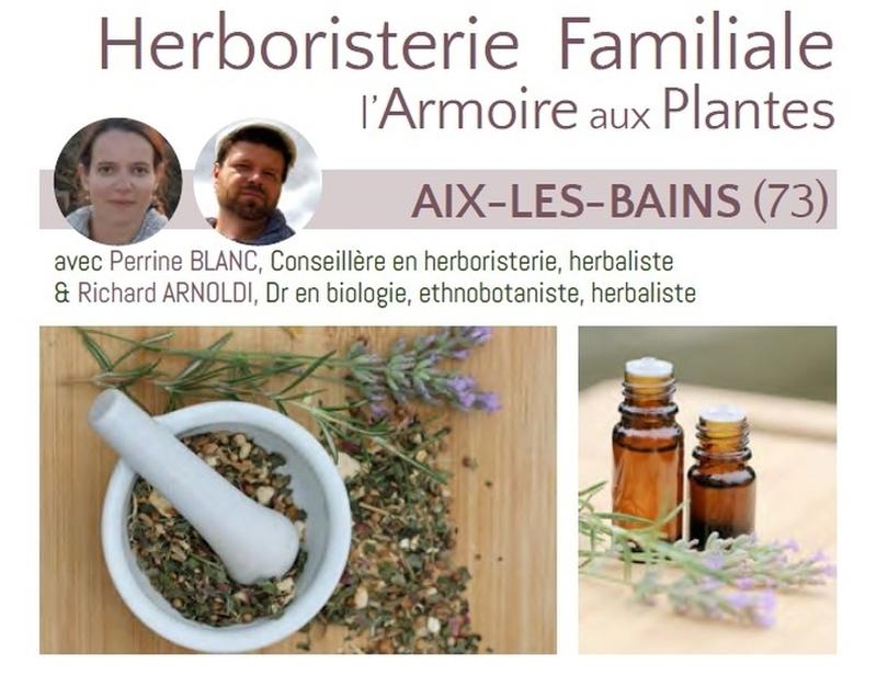 Formation en phytothérapie  et herboristerie en Savoie