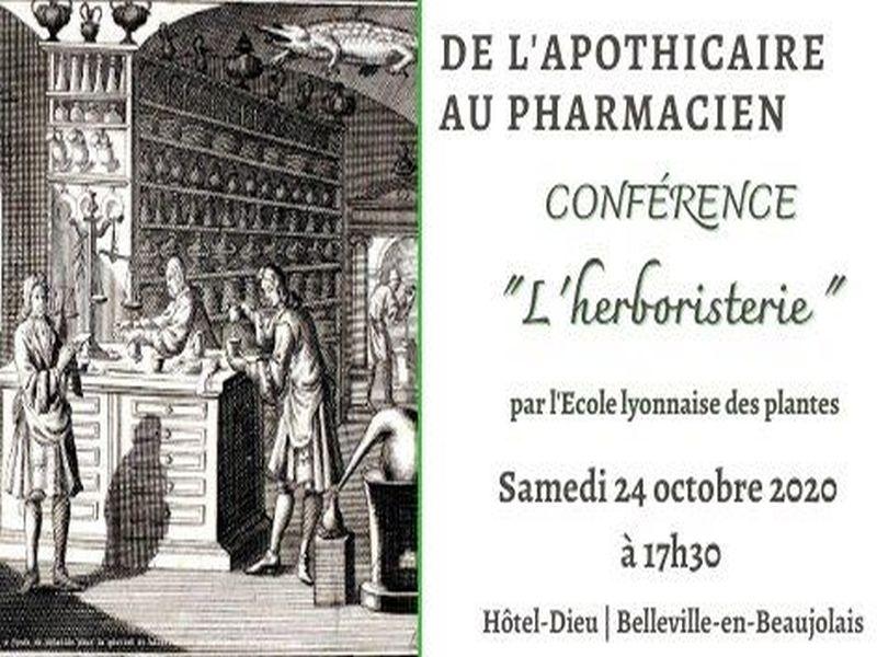 « L'herboristerie » à L'Hôtel-Dieu de Belleville-en-Beaujolais